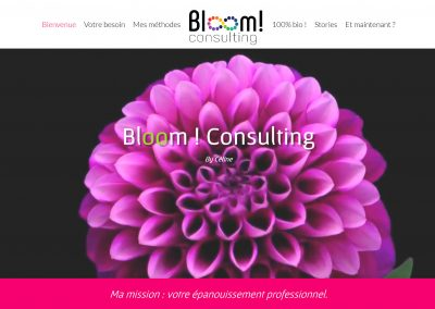 site Bloom Consulting / Myriade Communication